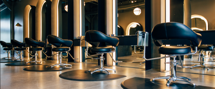hair salon Hills district